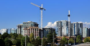 New Construction In Richmond City Royalty Free Stock Images
