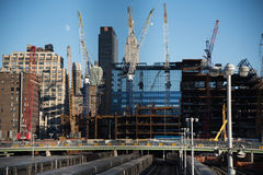 New Construction in New York Stock Photo