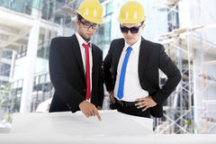 New construction project Stock Image