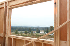New construction site. House under construction Royalty Free Stock Image