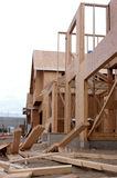 New construction site. House under construction Royalty Free Stock Images