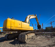New Construction Site Stock Images