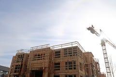 New construction site Stock Photo