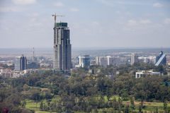 New construction skyscraper in Nairobi Stock Photography