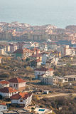 New construction in Sveti Vlas, Bulgaria Royalty Free Stock Image