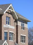 New construction townhouse detail view Stock Photography