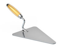 New construction trowel stock photo