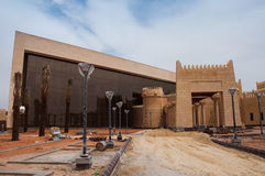New constructions in At Turaif district, Saudi Arabia Stock Photos
