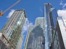 New construtions buildings Royalty Free Stock Photo