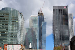 New construtions buildings Royalty Free Stock Images