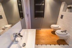 New contemporary bathroom Royalty Free Stock Photo