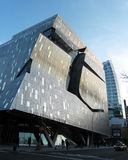 New Cooper Union Academic Building. 41 Cooper Square, New Cooper Union Academic Building in New York City. A new classroom, laboratory, and studio facility Royalty Free Stock Photo
