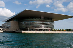 New Copenhagen opera house Royalty Free Stock Images