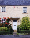 New Cottage. Idyllic newly built stone cottage on a London street Royalty Free Stock Images