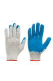 New cotton glove isolated on the white background Stock Images