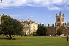New Court St John's College. The New Court St John's College at Cambridge University Stock Photos