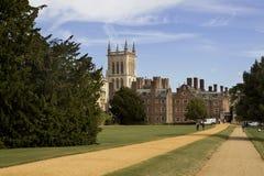 The New Court St John's College. At Cambridge University Stock Photos
