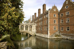 New Court St John's College. The New Court St John's College at Cambridge University Stock Photography