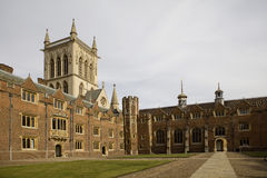 The New Court St John's College. At Cambridge University Royalty Free Stock Images