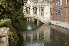 The New Court St John's College. At Cambridge University Stock Images