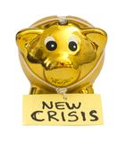 New crisis concept Royalty Free Stock Images