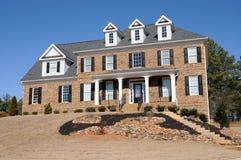 New Custom Built House Stock Photography