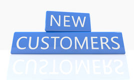 New Customers Stock Photography