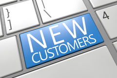 New Customers Royalty Free Stock Photo