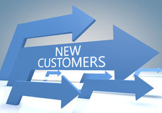 New Customers Royalty Free Stock Photos