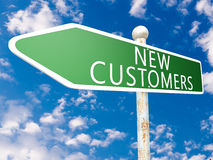 New Customers Royalty Free Stock Image