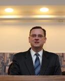 New Czech Prime Minister Petr Necas Stock Image