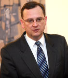 New Czech Prime Minister Petr Necas Royalty Free Stock Photo