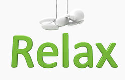New 3D people - relax vector illustration