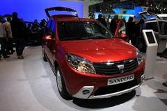 The new Dacia Sandero Stock Photos