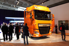 New DAF XF Euro 6 Truck Royalty Free Stock Images