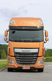 New DAF XF Tank Truck Parked Stock Photos