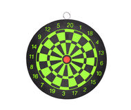 New darts board isolated on white background for business Stock Images