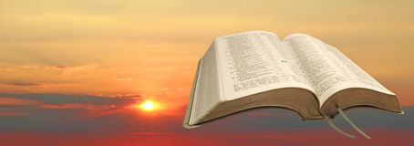 New dawn bible Royalty Free Stock Images