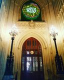 New Dawn. By Mary Branson Palace of westminster Royalty Free Stock Photo
