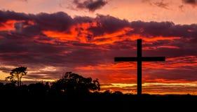 New Day Cross Stock Image