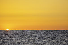 New Day Horizon Royalty Free Stock Images