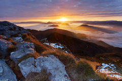 New day in Mala Fatra Royalty Free Stock Images
