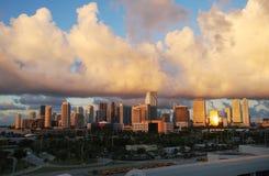New Day in Miami Stock Image