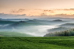 New day in Tuscany stock images