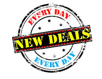 New deals Royalty Free Stock Image