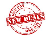 New deals Royalty Free Stock Photo