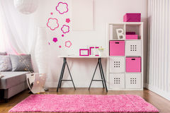 New decor of room Royalty Free Stock Images