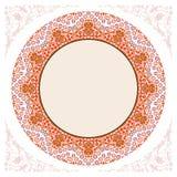 New 2015 decoratif islamic circular border Stock Photo