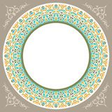 New decoratif islamic circular design 3 Royalty Free Stock Photos