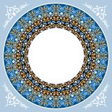 New decoratif islamic circular design 7 Stock Photo